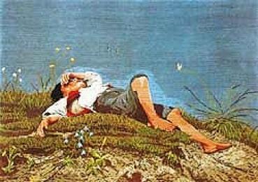 The Shepherd Boy - Miniature