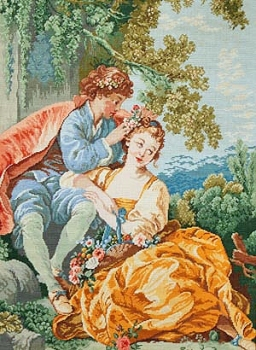 Young Couple in Spring