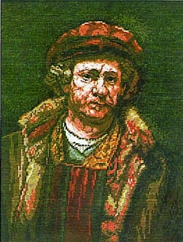 Selfportrait with Red Cap