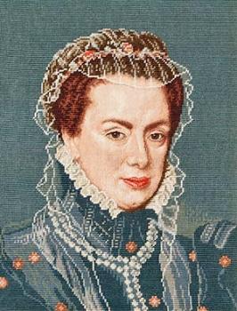 Portrait of the Duchess Margarete of Parma