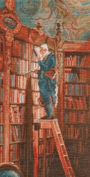 The Bookworm Petit Point