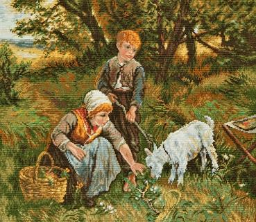 Childrens Little Goat - Miniature