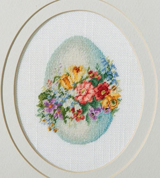 Decorative Egg - Petit-Point