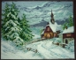 Preview: Woodland Chapel in the Snow - Miniature