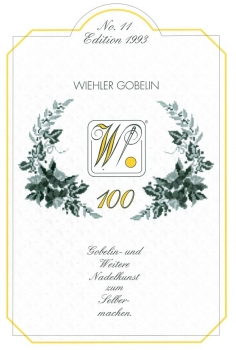 100 years Wiehler Gobelin - anniversary  catalogue 1993 (german)