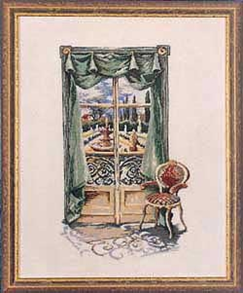 Italian Window - Petit-Point